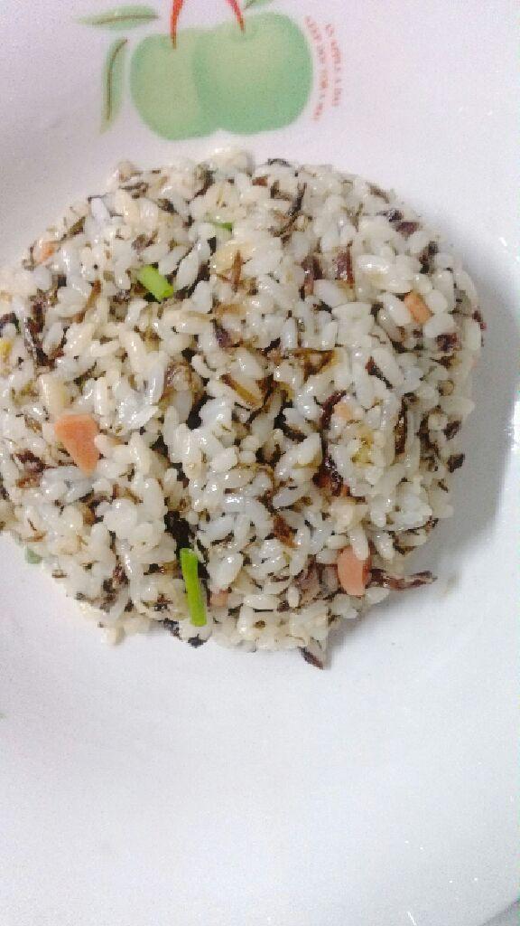 梅干菜炒饭带图步骤