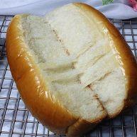 香蕉牛奶排包 #采用先油法揉面#