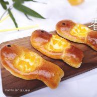 水果鱼面包