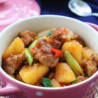香辣土豆猪骨干锅