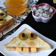 百变大眼怪三明治