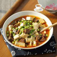 毛豆米双色豆腐