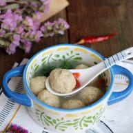 马蹄丸子汤