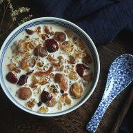 补充胶元蛋白的桃胶牛奶