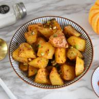土豆这样做,吃起来口感丰富,外脆里嫩!