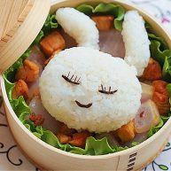 兔子趣味便当