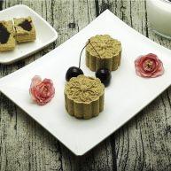 香油豆沙馅绿豆糕