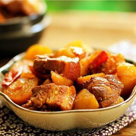 唇齿留香软糯如沙--红烧肉炖土豆