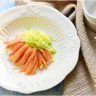 蟹肉三文鱼沙拉