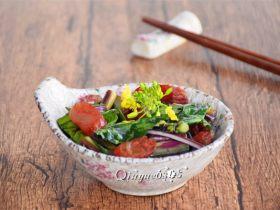 #家常菜大比拼#腊肠紫菜苔
