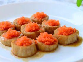 紅燒魚籽杏鮑菇