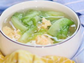虾滑蔬菜汤