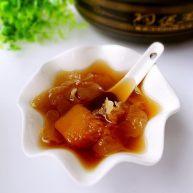 银耳南瓜汤