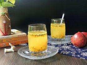 百香果蜂蜜水