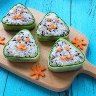 藜麦鱼松饭团