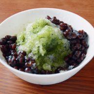 电饭煲蜜红豆+抹茶红豆绵绵冰