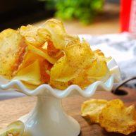 椒盐烤薯片