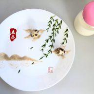 餐盘画——立春