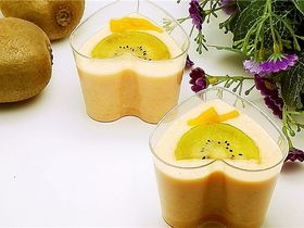 情人节佳品--木瓜酸奶布丁
