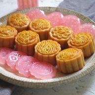 广式莲蓉月饼(自制内馅)