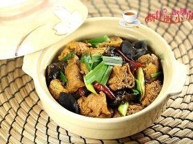 魚籽燒油豆腐