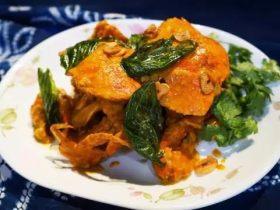 泰式黄咖喱螃蟹