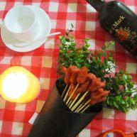 可以吃的花束——香辣香肠花束