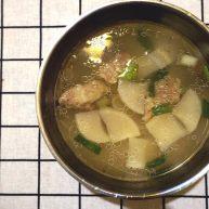 新锅入伙之萝卜排骨汤