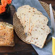 面包机版红枣果仁面包
