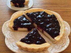 蓝莓布丁派