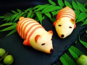 #甜味#暖暖熊香肠烧果子