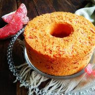 红柚果粒蛋糕
