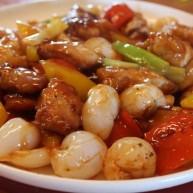 糖醋菜+糖醋荔枝鸡