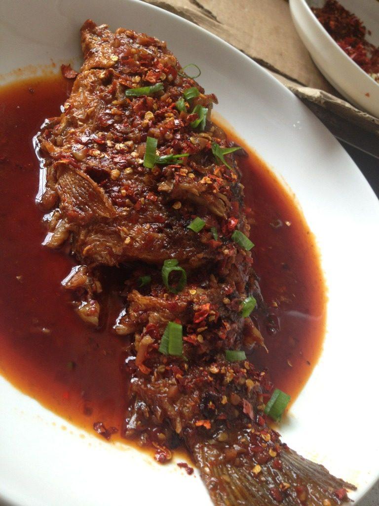 炝锅鱼(家常味)