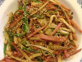 红肠杏鲍菇