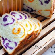 紫薯南瓜土司
