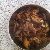 鲜香菇炒肉片