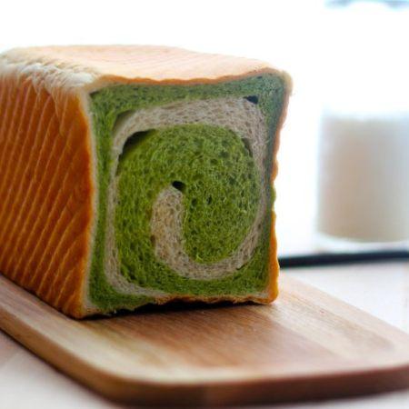 绿茶圈圈土司