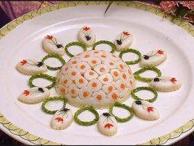 兰花蟹黄稀卤笋