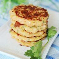 土豆芝士虾饼