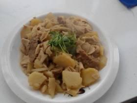 干豆腐土豆片