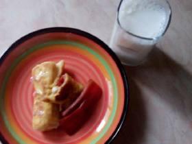 蛋液土司卷