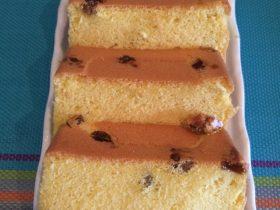 葡萄干戚風蛋糕