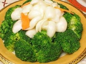 西兰花豆酥鳕鱼
