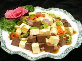 香烧红白豆腐