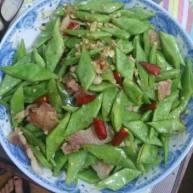 爆炒橄榄豆