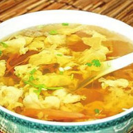鸡蛋黄花汤
