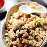 黑椒蚝油牛肉粒炒饭
