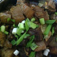 牦牛肉炖萝卜