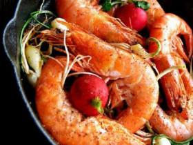 野蒜干鍋蝦